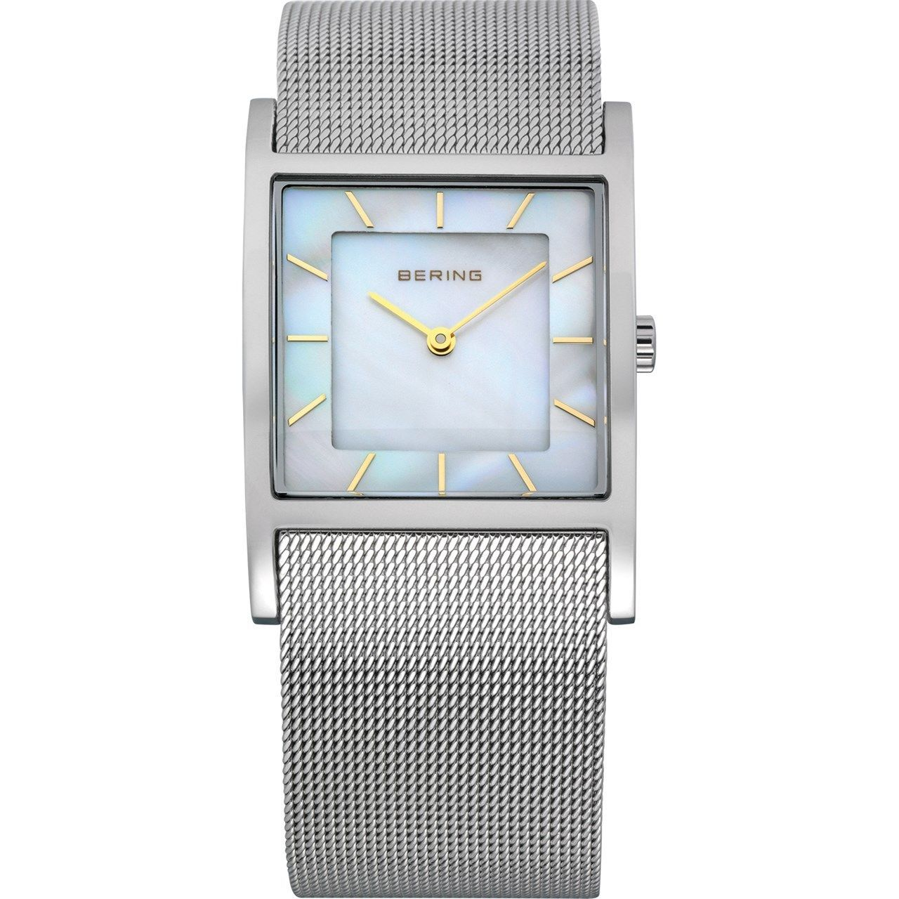 *BRAND NEW* Bering Women's Silver Dial  Strap Stainless Steel Watch 10426-010-S