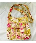 Purse Bag VERA BRADLEY MAKE ME BLUSH Hipster Shoulder Retired 2011 Preow... - $32.99