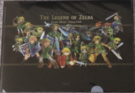 Clear file The legend of ZELDA game music collection  - $27.00