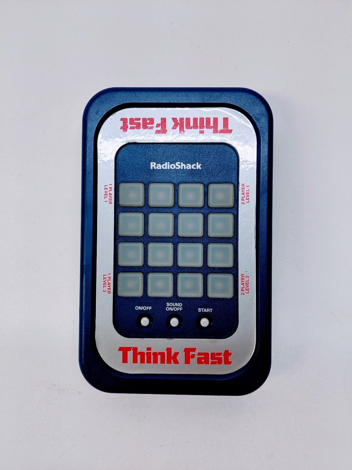 Vintage 1997 Think Fast Electronic Handheld Game Toy 60-2673 RadioShack Tandy