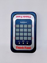 Vintage 1997 Think Fast Electronic Handheld Game Toy 60-2673 RadioShack ... - $16.44