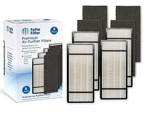 Fette Filter - Air Purifier Filter and Pre-Filter Compatible with Honeywell True