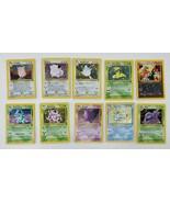 Pokemon 10 Card Lot - Vintage Sets Holo Rare - $99.97