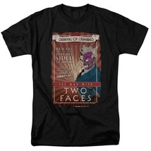 DC Comics The Man with two faces Carnival of Criminals retro Tee BM2186 image 1