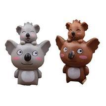 Set of 4 Creative Pretty Lovely Mini Koala Figurines for Pot Plant