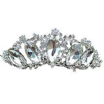Nobel Diamand Alloy Wedding Hair Comb Crown Headband