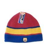 FCB Barcelona Football Club Reversible Knit Fleece Beanie Skull Cap Adul... - $24.74