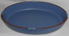 Dansk Blue Mesa Pattern Large Oval Baker Made In Portugal - $49.49