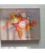 Robert Cox Original Painting Bouquet of Flowers  - $74.24