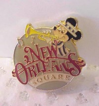 Disneyland 1986 Mickey New Orleans Square Red Pin - $13.00
