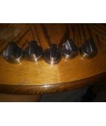 2 GE Range Oven Knob WB03X28129 295D1375 heavy metal gas used  - $58.41