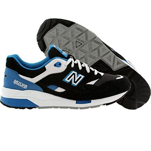New Balance Men's CM1600 Riders Club Collection Running Shoe, Black/Blue, 10 D U