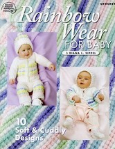 Rainbow Wear for Baby 10 Designs Crochet Pattern/Instructions NEW - $2.67