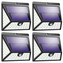 Solar Lights Outdoor, Mitaohoh 82 LEDs Wireless Waterproof Solar Motion Sensor L image 1