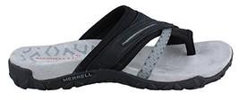 Merrell Women's Terran Post II Sandal, Black, 9 M US - $76.75