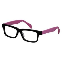 EBE Bifocal Wooder Black Unisex Pink Retro Style Regular Reading Glasses - $28.87