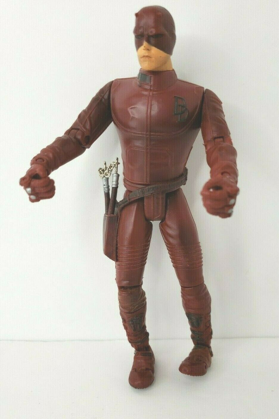 "Daredevil Movie Action Figure 2002 Marvel 6"" Affleck with Nunchucks image 4"