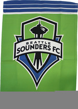 "Seattle Sounders - 12.5""x18"" 2-Sided Garden Banner - $14.34"