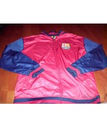 FCB BARCELONA AUTHENTIC TRACK JACKET NEW SOCCER 2015 Rare official jerse... - $39.59