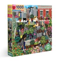 eeBoo Urban Gardening 1000 Piece Puzzle - $23.00