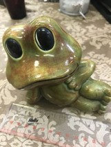 79 Noramma Salem Hitch Kraft Pottery Signed Frog - $18.39