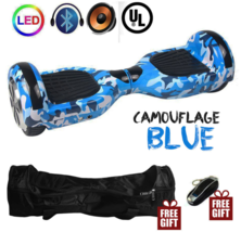 Graffiti LED Bluetooth Hoverboard Two Wheel Balance Scooter UL2272 - $249.00