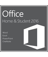 Microsoft Office Home and Student 2016 Key & Download for Windows - $14.50