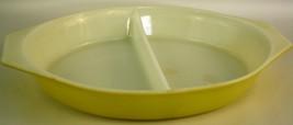 Pyrex Divided Yellow Bowl - $13.99