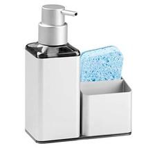 mDesign Modern Aluminum Kitchen Sink Countertop Liquid Hand Soap Dispens... - $19.09
