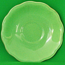 Vintage Regency British Anchor (England) Solid Green Saucer (No Cup) - $1.25