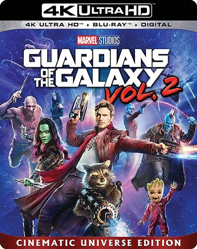 Guardians of the Galaxy Vol. 2  (4K Ultra HD + Blu-ray)