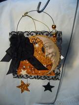 Halloween Magic Moonlight Postcard Ornament Bethany Lowe image 1