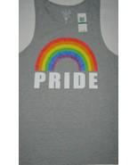 Pride Rainbow Mens Tank Top Sleeveless Shirt LGBTQ Colorful Graphic NWT ... - $14.80