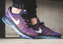 NIKE FLYKNIT AIR MAX MULT-COLOR SIZE 12.5 BRAND NEW FAST SHIPPING (62046... - £94.81 GBP