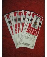 2013–14 Chicago Blackhawks Stanley Cup Champs Full Unused Ticket Stubs $... - $2.96
