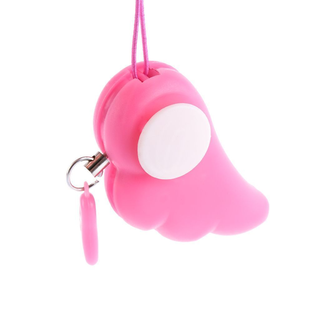 Color Random Panic Personal Protection Alarm Key Ring Self Defense Anti-Attack*