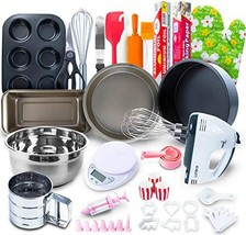 Baking Set for kids and adults - 60 PCS SPECIAL BAKERY EQUIPMENT AND TOO... - £43.53 GBP