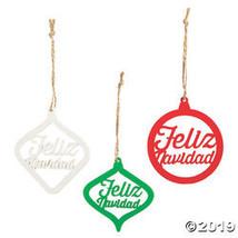 Feliz Navidad Ornaments - $18.50