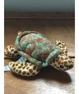 American Girl Doll Lea Clark Spotted Plush Sea Turtle – 6.5 x 5.75 inche... - $12.19