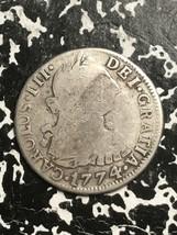 1774-PTS JR Bolivia 2 Real Lot#0883 Silver!  - $51.43