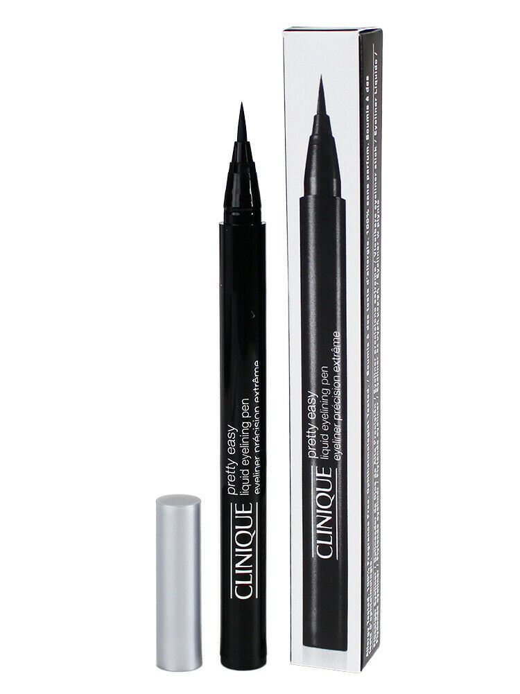 Primary image for Clinique Pretty Easy Liquid Eyelining Pen - 01 Black, 0.01oz/0.34g - SEALED