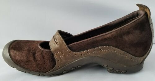 Merrell Performance Plaza Bandeau Chocolate Brown Mary Janes Ortholite Shoes 8 image 9