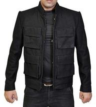 Star Wars Empire Strikes Back Han Solo Flap Pockets Black Wool Jacket image 1