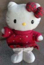 Hello Kitty Stuffed Doll – Sanrio Smiles – Vgc – Super Cute Hello Kitty –Collect - $24.74