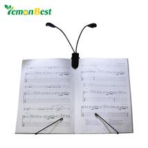 Flexible Light Clip LED Lamp Bulb Reading English Softback AAA Battery D... - $8.79