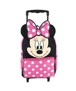 """Minnie Mouse 14"""" Softside Rolling Backpack - $49.19"""
