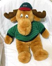 "Commonwealth Max Plush Christmas Holiday 19"" Moose -1994 - $30.00"