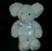 """16"""" VINTAGE RUSS BERRIE LOLLIPOP BLUE ELEPHANT RATTLE STUFFED ANIMAL PLU... - $36.47"""