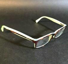 Ralph Ralph Lauren Rectangular Brown Tortoise Blue Eyeglass Frames RA7047 601 - $37.40