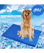 NACOCO Large Dog Cooling Mat Blue with Collapsible Pet Travel Bowl | Non... - $23.99+